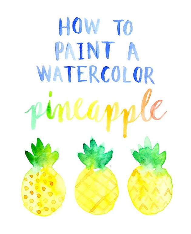 How-to-paint-a-watercolor-pineapple-by-Lines-Across.jpg