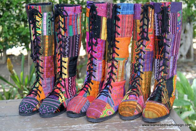 Vegan_patchwork_womens_boots_in_Hmong_embroidery_and_batik_handmade_massive.JPG