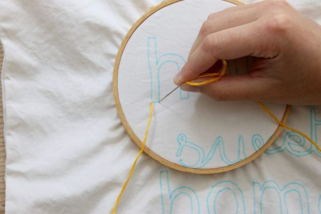 embroidered-home-sweet-home-throw-pillow-thread-needle